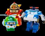 При покупке набора Silverlit машинка Robocar Poli бесплатно!