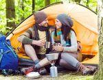 На привале с GRENK'ой: палатка Marmot + набор посуды