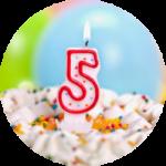 Нам 5 лет: GRENKA дарит скидки всем!