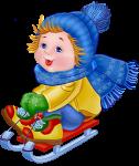 'Снежные' подарки для детей: к санкам - лопатка и снежколеп