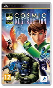 игра Ben 10 UA Cosmic Destruction PSP