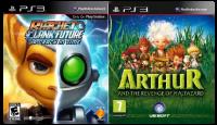 игра Сборник 2в1: Ratchet & Clank: A Crack in Time + Arthur and the Revenge of Maltazard PS3