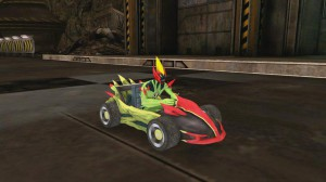 скриншот Ben 10: Galactic Racing PS Vita #7