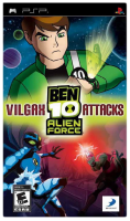 игра Ben 10 Alien Force Vilgax Attacks PSP