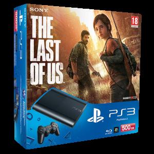 Приставка Sony Playstation 3 Super Slim Bundle (Одни из нас, 500Gb, CECH-4008C)