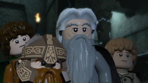 скриншот LEGO Lord of the Rings PS3 #2