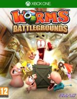 игра Worms Battlegrounds XBOX ONE