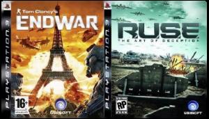игра Сборник 2в1: R.U.S.E. + Tom Clancy's EndWar PS3