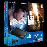 Приставка Sony PlayStation 3 Last of Us, Beyond Two Souls Bundle