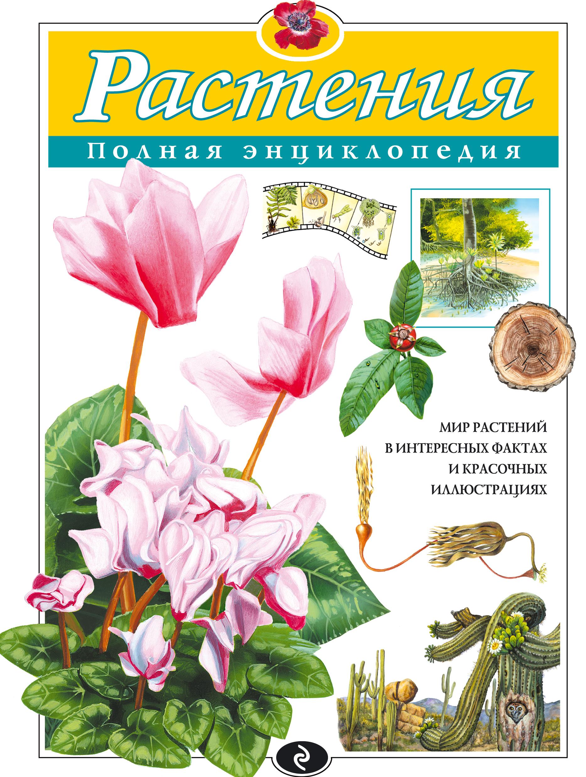 Купить Растения. Полная энциклопедия, Юлия Школьник, 978-5-699-40325-7