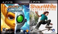 игра Сборник 2в1: Ratchet & Clank: A Crack in Time + Shaun White Skateboarding PS3