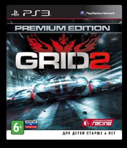 игра GRID 2 Premium Edition PS3