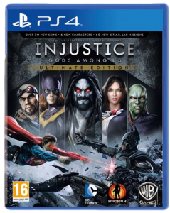 игра Injustice: Gods Among Us Ultimate Edition PS4