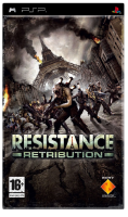игра Resistance Retribution PSP