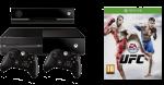 Приставка XBOX ONE EA Sports UFC Bundle (+2й джойстик)