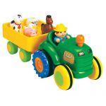 Игрушка на колесах Kiddieland Трактор с трейлером (024753)