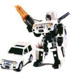 Робот-трансформер: Mitsubishi Pajero