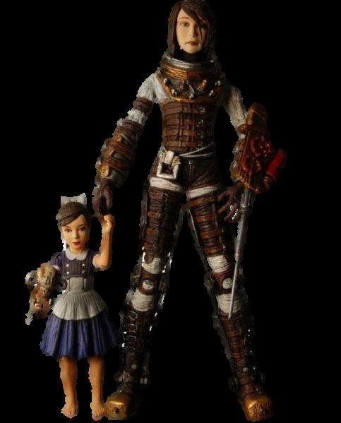Купить Bioshock 2: Eleanor Lamb Unmasked & Saved Sister Figures (комплект) (179)