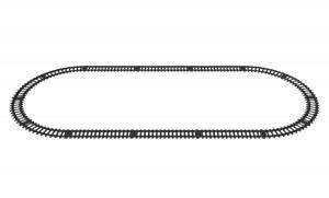 Овальное железнодорожное полотно
