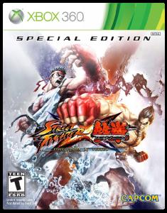 игра Street Fighter x Tekken Special Edition Xbox 360