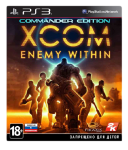 игра XCOM: Enemy Within Commander Edition PS3
