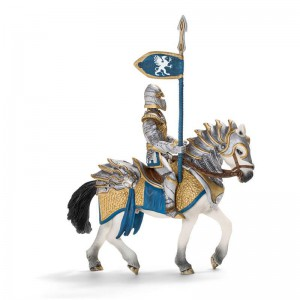 Детская игрушка Schleich 'Рыцарь Грифона с копьем верхом на коне'