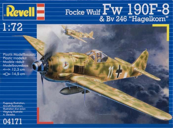 Самолет (1944 г. Германия) Focke Wulf 190 F-8&Bv 246 'Hagelkorn'