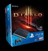 Приставка Playstation 3 Super Slim Bundle (Diablo 3, 2x Skins, 500Gb, CECH-4008C)