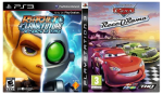 игра Сборник 2в1: Ratchet & Clank: A Crack in Time + Cars: Race-O-Rama PS3