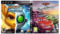 игра Сборник 2в1: Ratchet & Clank: A Crack in Time + Cars: Race-O-Rama PS3