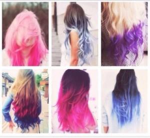 фото Цветные мелки для волос Hot Huez #2