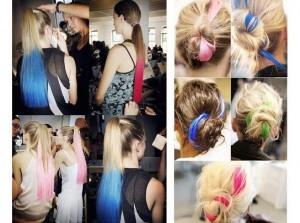 фото Цветные мелки для волос Hot Huez #4