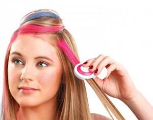 фото Цветные мелки для волос Hot Huez #5