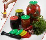 Подарок Набор для вакуумного хранения продуктов (9 крышек+насос)