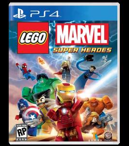 игра LEGO Marvel Super Heroes PS4