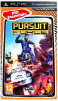 игра Pursuit Force Extreme Justice PSP