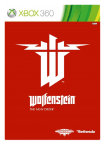 игра Wolfenstein: The New Order XBOX 360