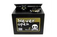 Подарок Интерактивная копилка Скелет в коробке