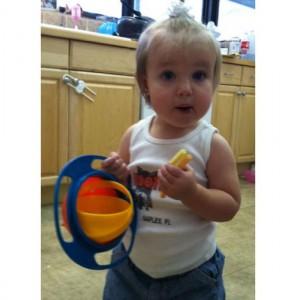 фото Детская чашка неваляшка Gyro Bowl #8