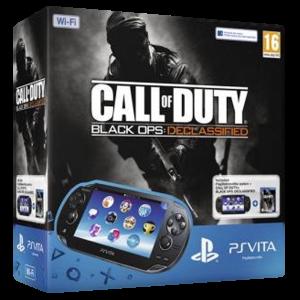 Приставка PS Vita Black WiFi Bundle (MC 4 Gb, Call of Duty BO Voucher)