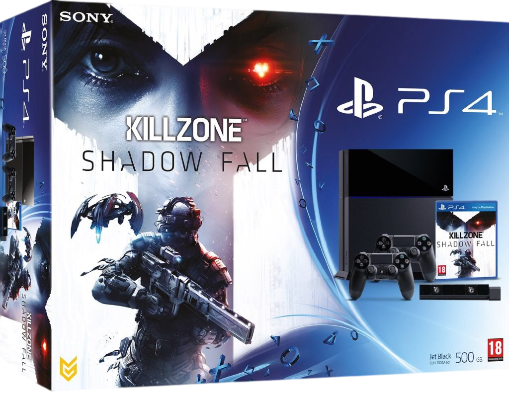 PlayStation 4 Killzone: Shadow Fall Bundle + 2й джойстик + камера