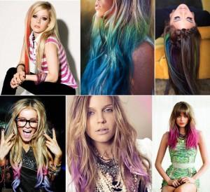 фото Цветные мелки для волос Hot Huez #6