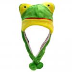Подарок Шапка с ушками Лягушка