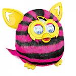 Подарок Интерактивная игрушка Furby Boom (Ферби бум) Полосатик