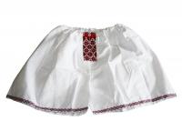 Подарок Мужские трусы - шорты Вышиванка красные