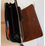 Подарок Кожаный клатч мужской ручной m012