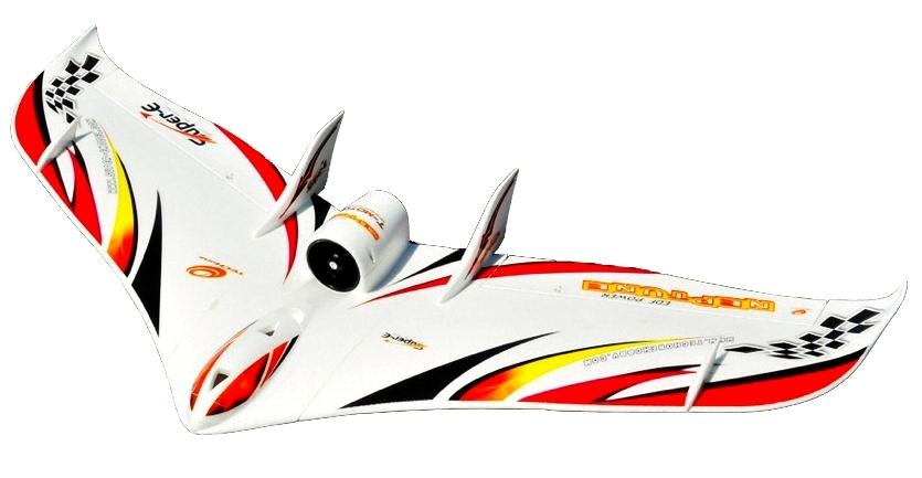 Купить TechOne EDF Neptune 1230мм EPO ARF Летающее крыло (красный), Tech One