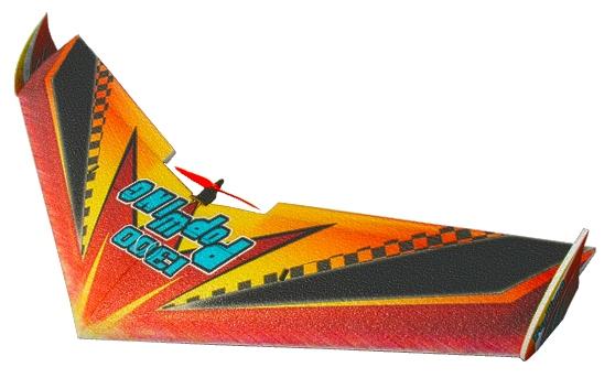 Купить TechOne Popwing 1300мм EPP ARF Летающее крыло на р/у, Tech One