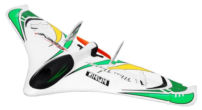 Купить TechOne Mini Neptune 588мм EPO ARF Летающее крыло (зеленый), Tech One