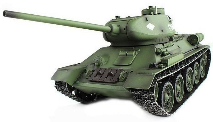 Купить Танк р/у Heng Long T-34 с пневмопушкой и дымом, WL Toys